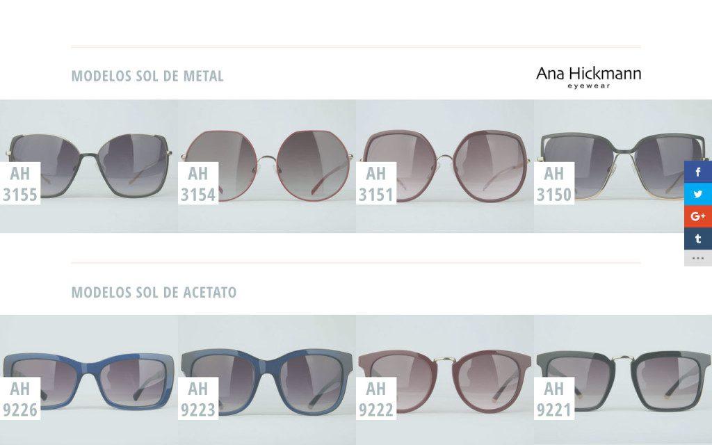 Galeria de óculos