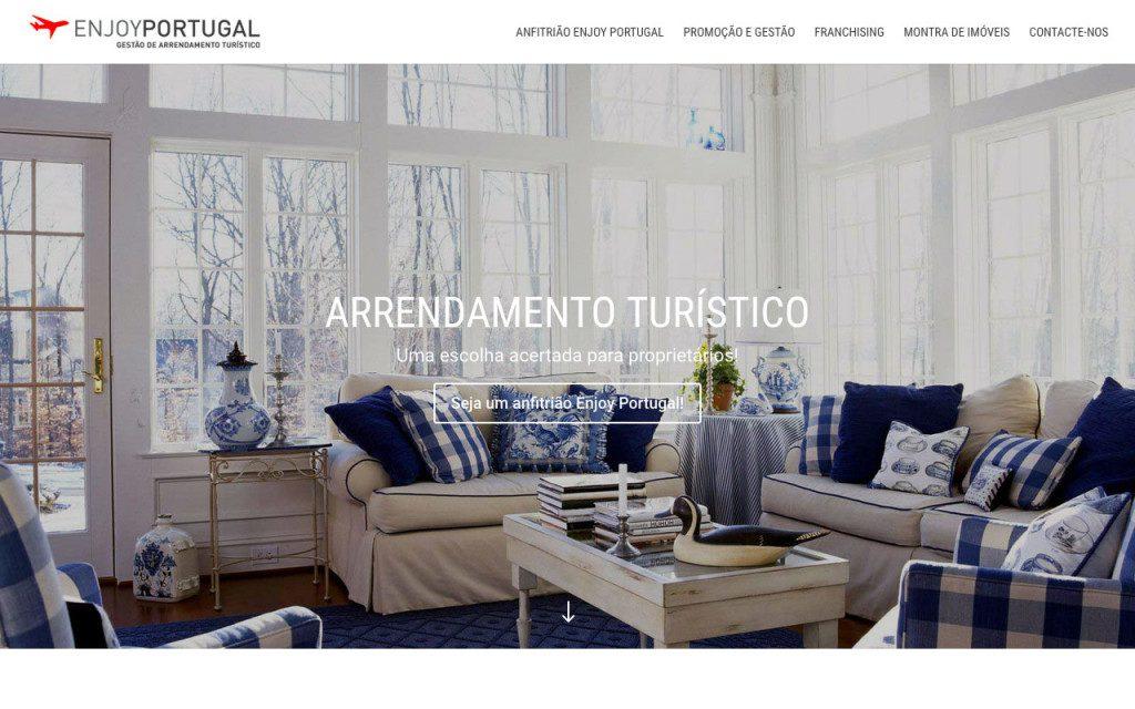 Site Enjoy Portugal